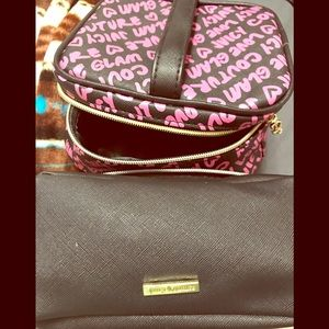 Brand New Juicy Couture makeup bags!